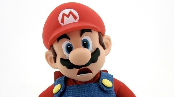 Nintendo Sad Mario