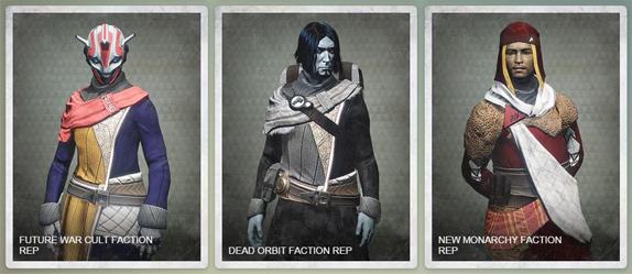 Destiny Factions