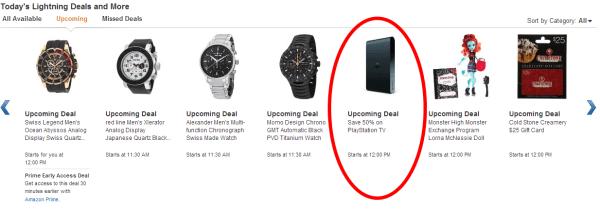PS Vita TV Sale
