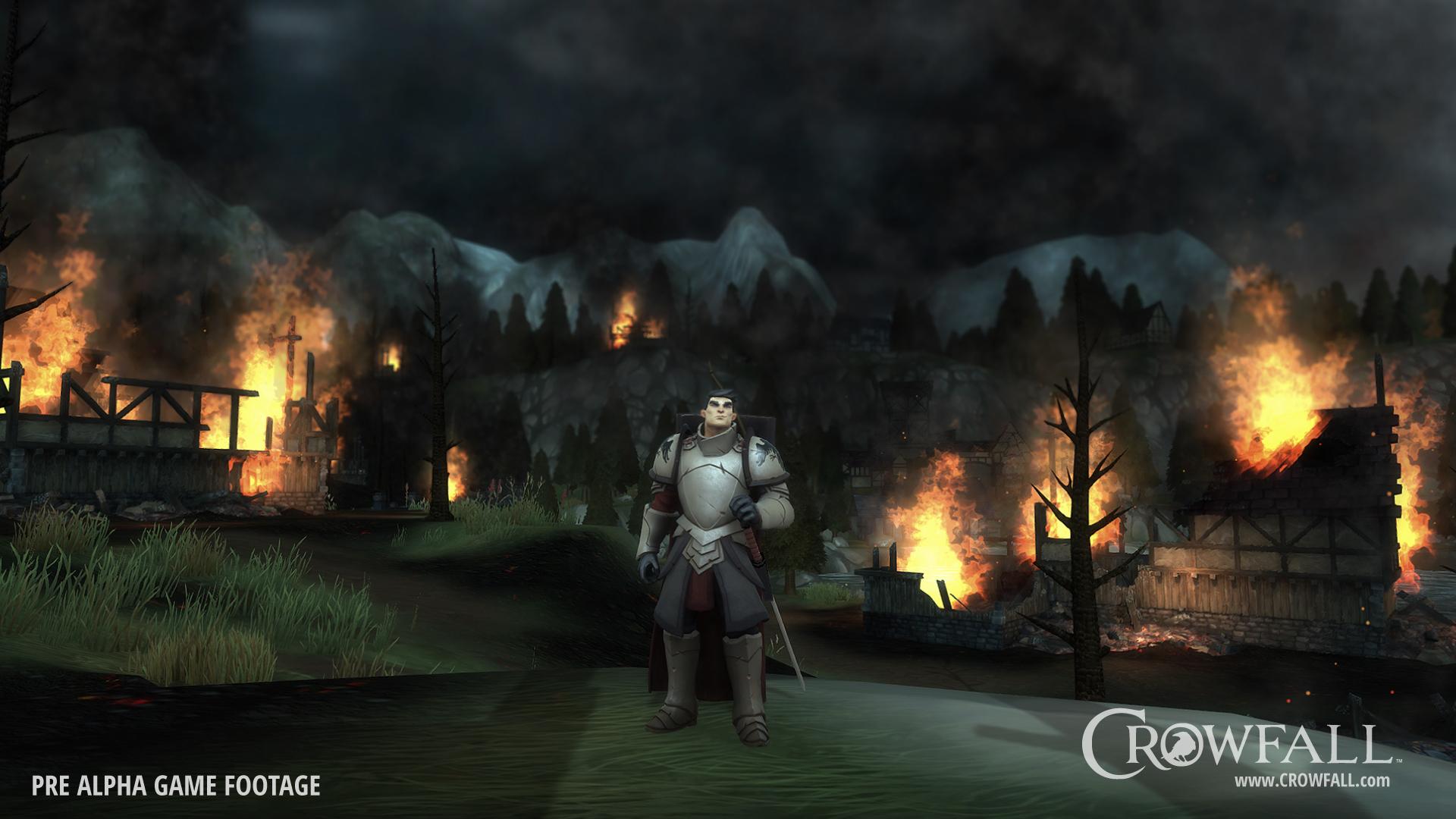 Crowfall Reaches Crowdfunding Goal in Three Days - VR World