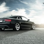 Audi S5 With A Set Of Vorsteiner Wheels