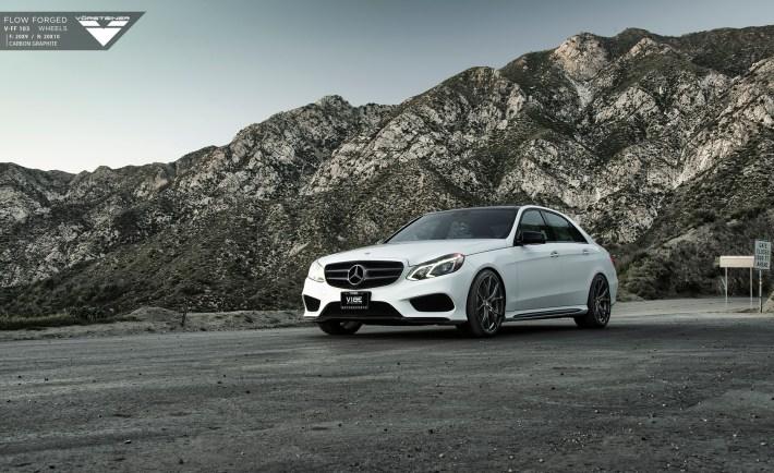 Mercedes-Benz E350 On Vorsteiner Wheels