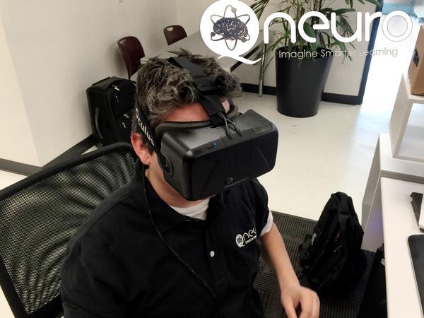 Oculus Rift DK Qneuro