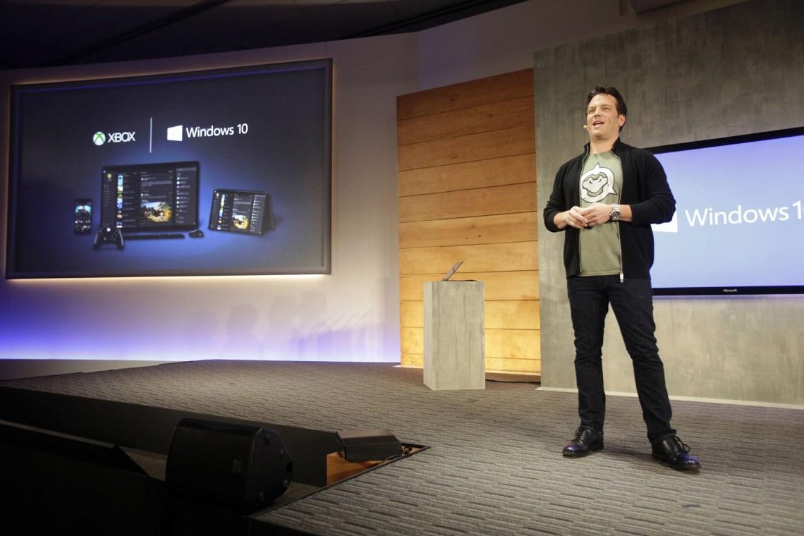 Phil Spencer Xbox One Windows 10