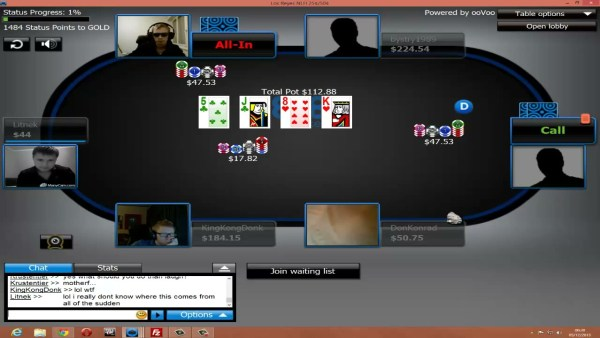Some online poker providers started to move away from passive representation and bring support for webcams, with plans to expand into VR. Credit: 888poker