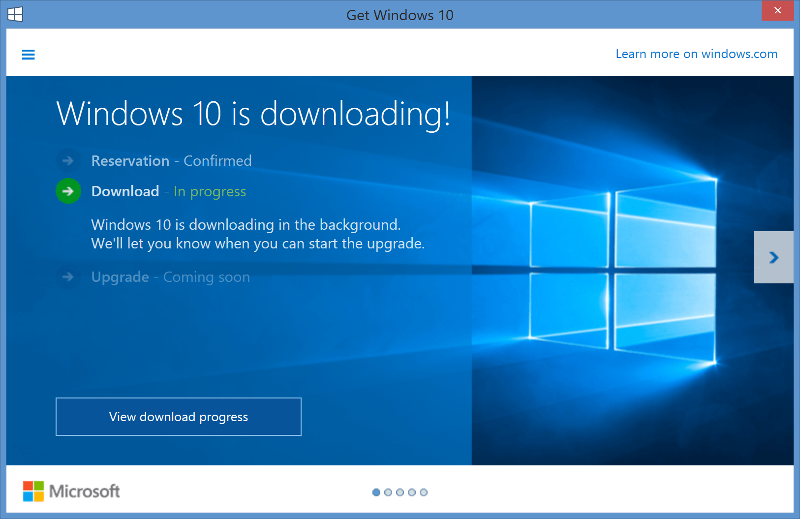 Microsoft Windows 10 is Incredibly Easy to Download