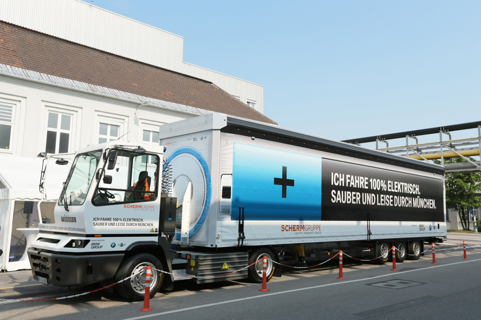 BMW & SCHERM Group developed an Electric Truck i.e. Semi
