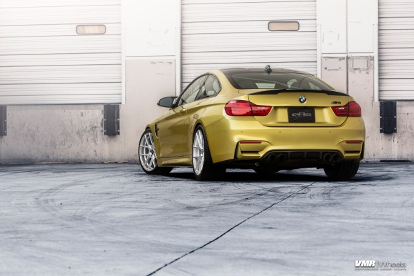 BMW F82 M4 On VMR V803 Wheels 7