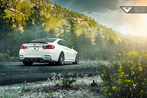 BMW F82 M4 With Vorsteiner Flow Forged V-FF 102 Wheels 4
