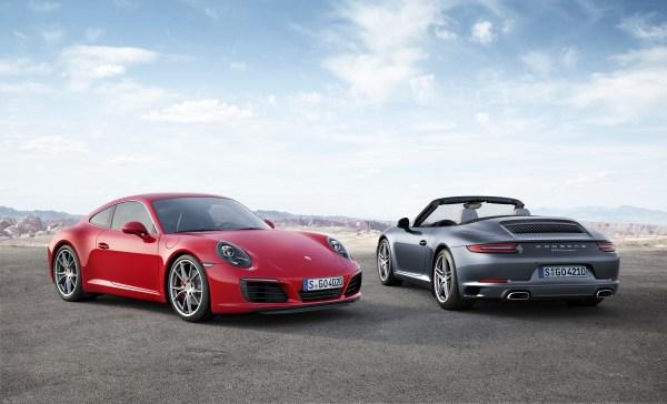 The new 911 Carrera models