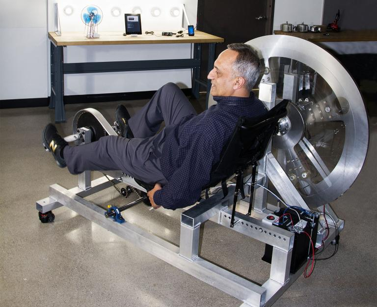 Indian American billionaire and inventor Manoj Bhargava. Photo credit: National Geographic