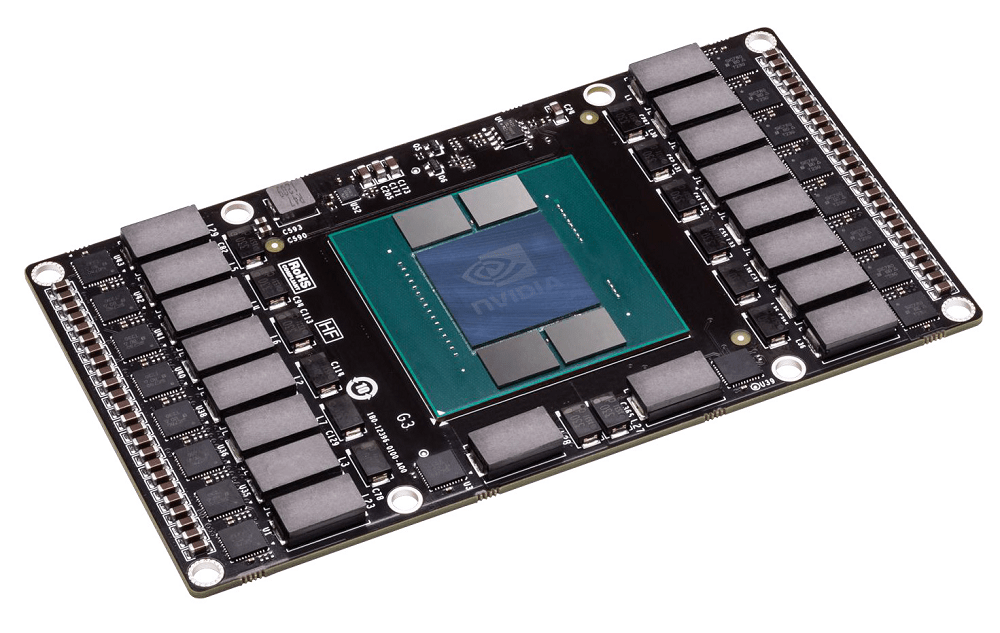 NVIDIA Pascal proof-of-concept Engineering Board with 4GB HBM memory. Retail products will carry 16GB of HBM2 memory.