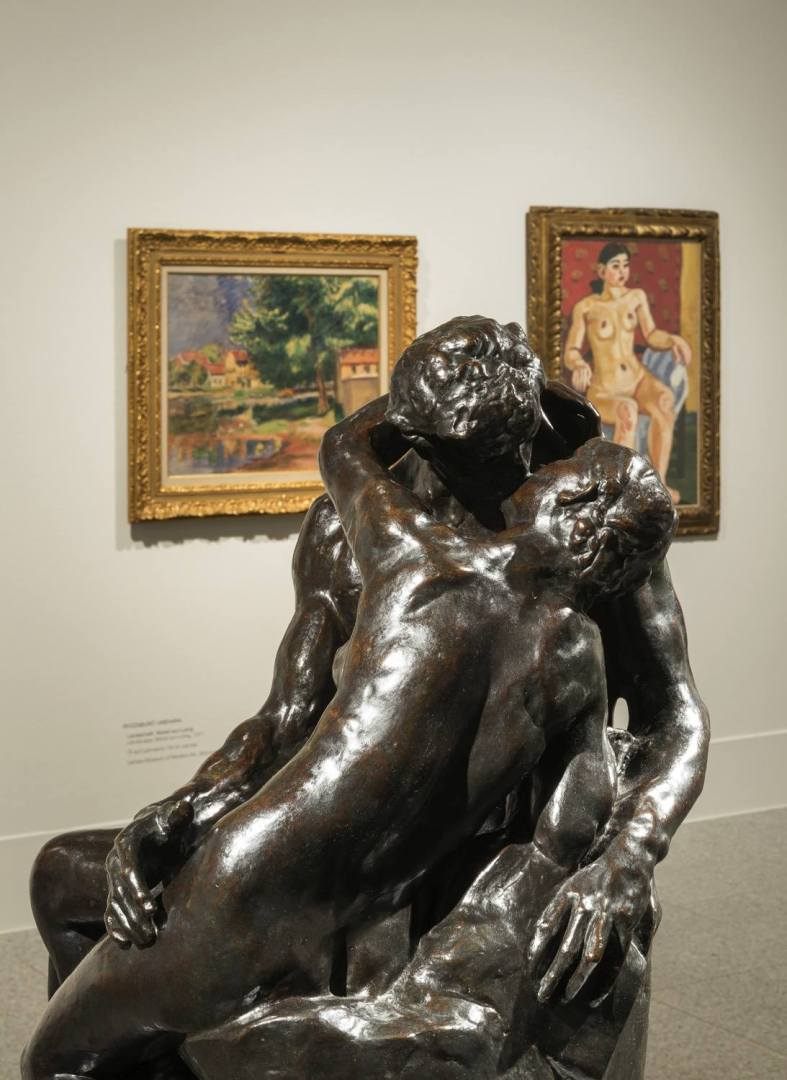 """The original image for """"Nackt in Museum"""" (Naked in Museum) exhibition."""
