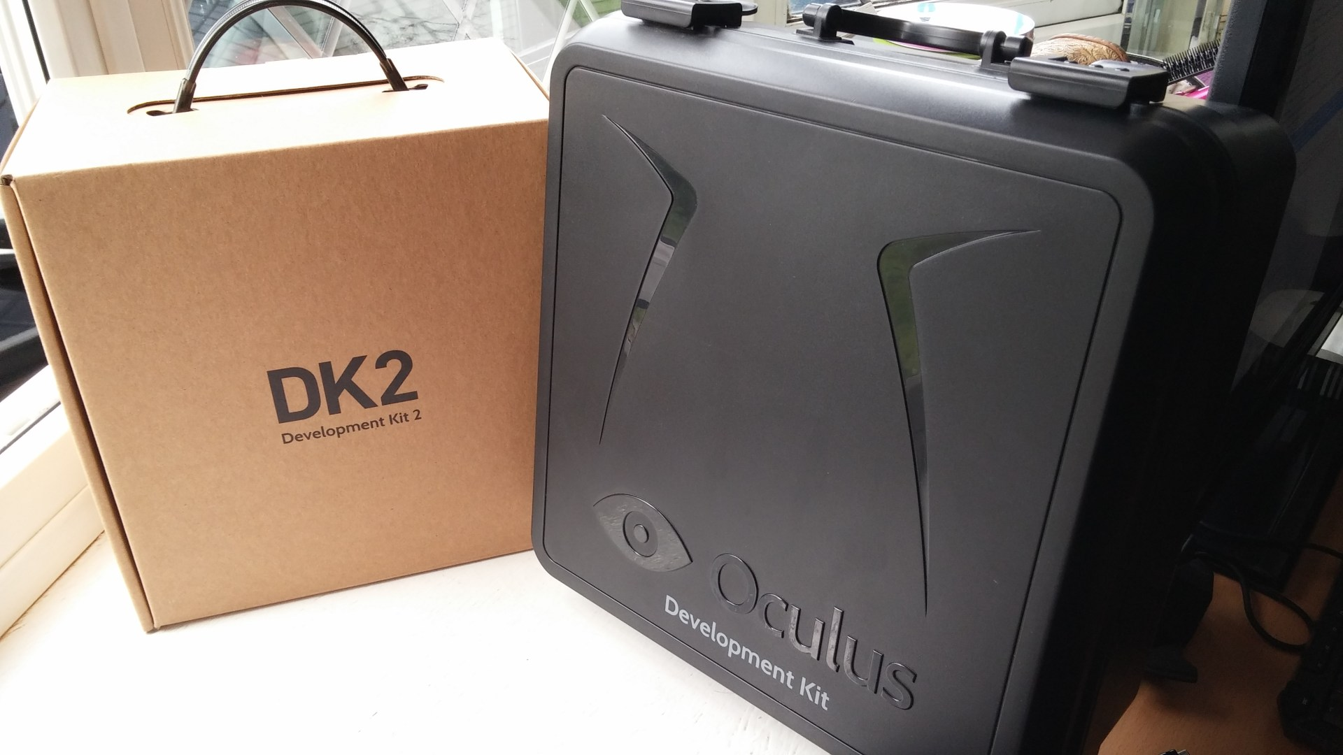 Back to the Future: Oculus Rift will ship in a hard-shell plastic case similar to the one used for DK1.