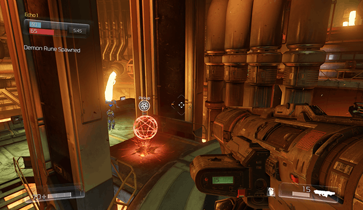 DOOM Multiplayer Alpha Map