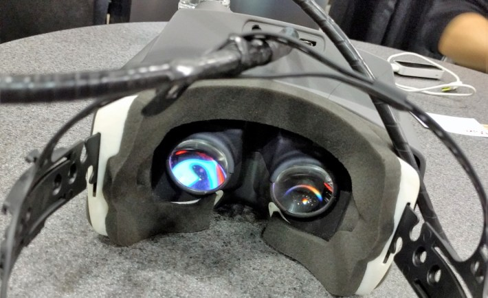 GameFace Labs VR Optics give 140 degree FOV