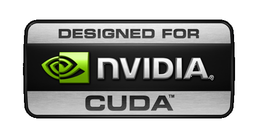 "NVIDIA ""Designed For CUDA"" Logo"