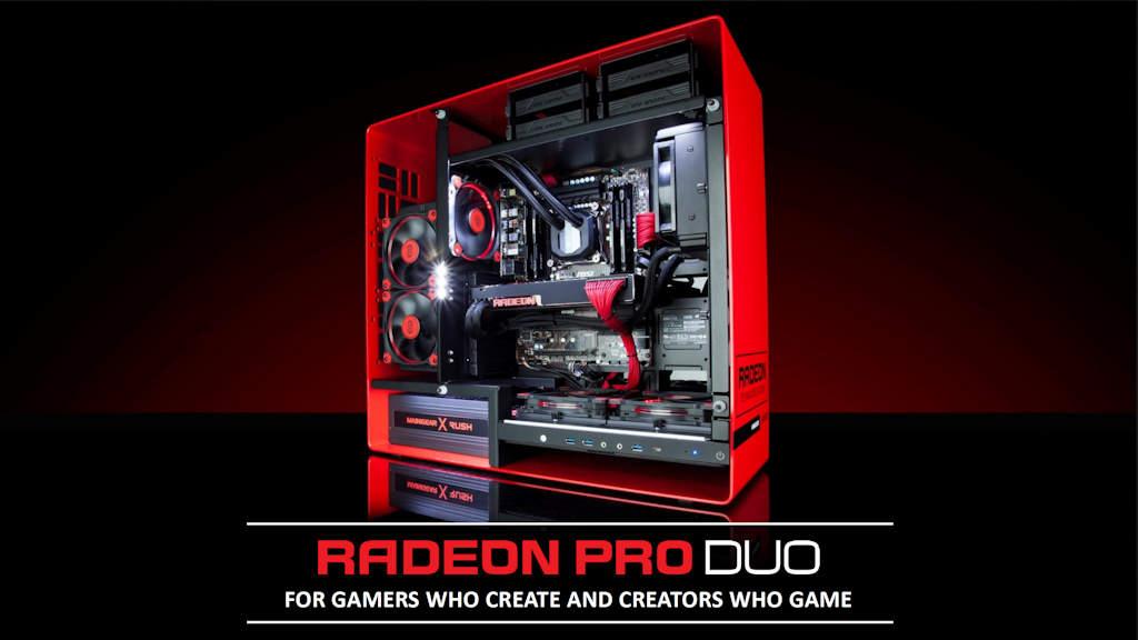 AMD Radeon Pro Duo PDF Opening Page