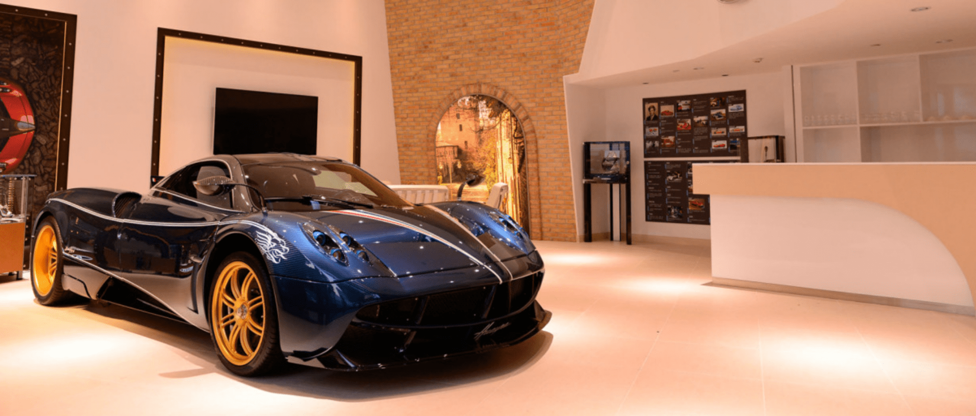 Pagani Showroom in Shanghai, China