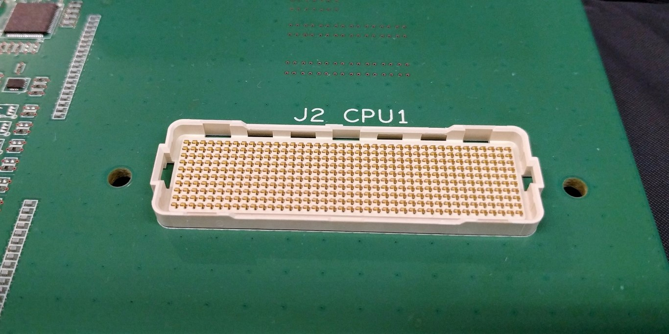 Zoom's JCPU1 i.e. Socket LGA400 mezzanine connector for NVLink