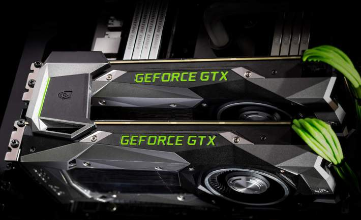 Nvidia GeForce GTX 1080 in 2-Way SLI