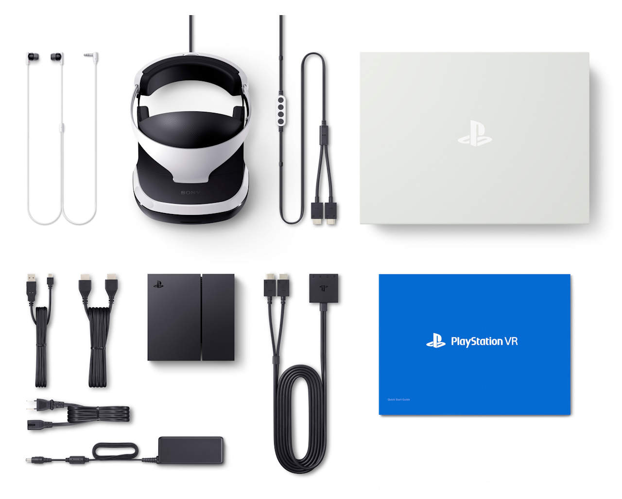 SONY PlayStation VR Contents of retail package