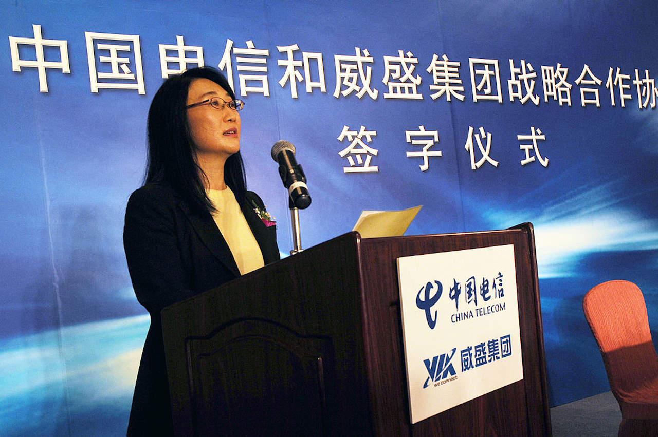 Cher Wang, head of HTC, S3 Graphics, VIA Technologies etc.