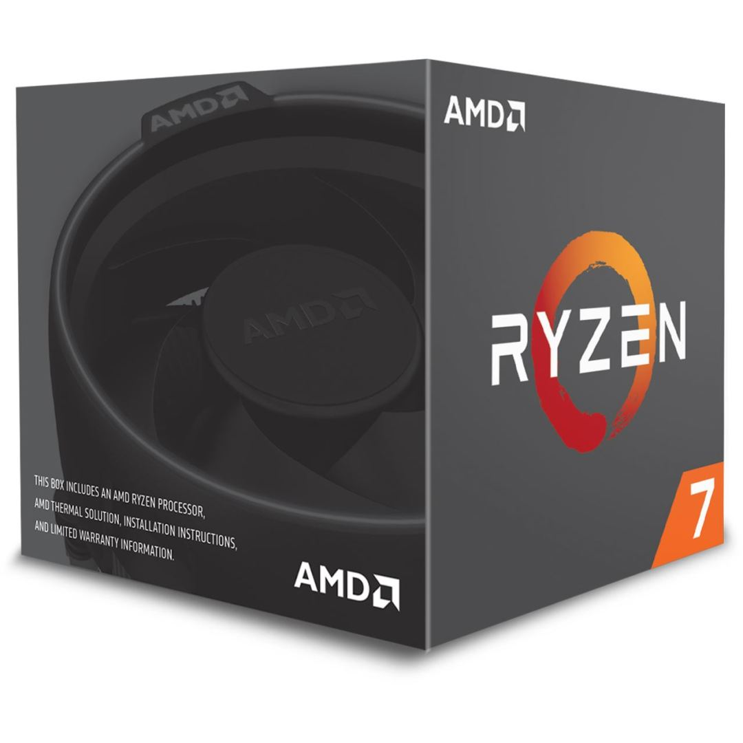 Retail box for AMD RYZEN with Heatsink