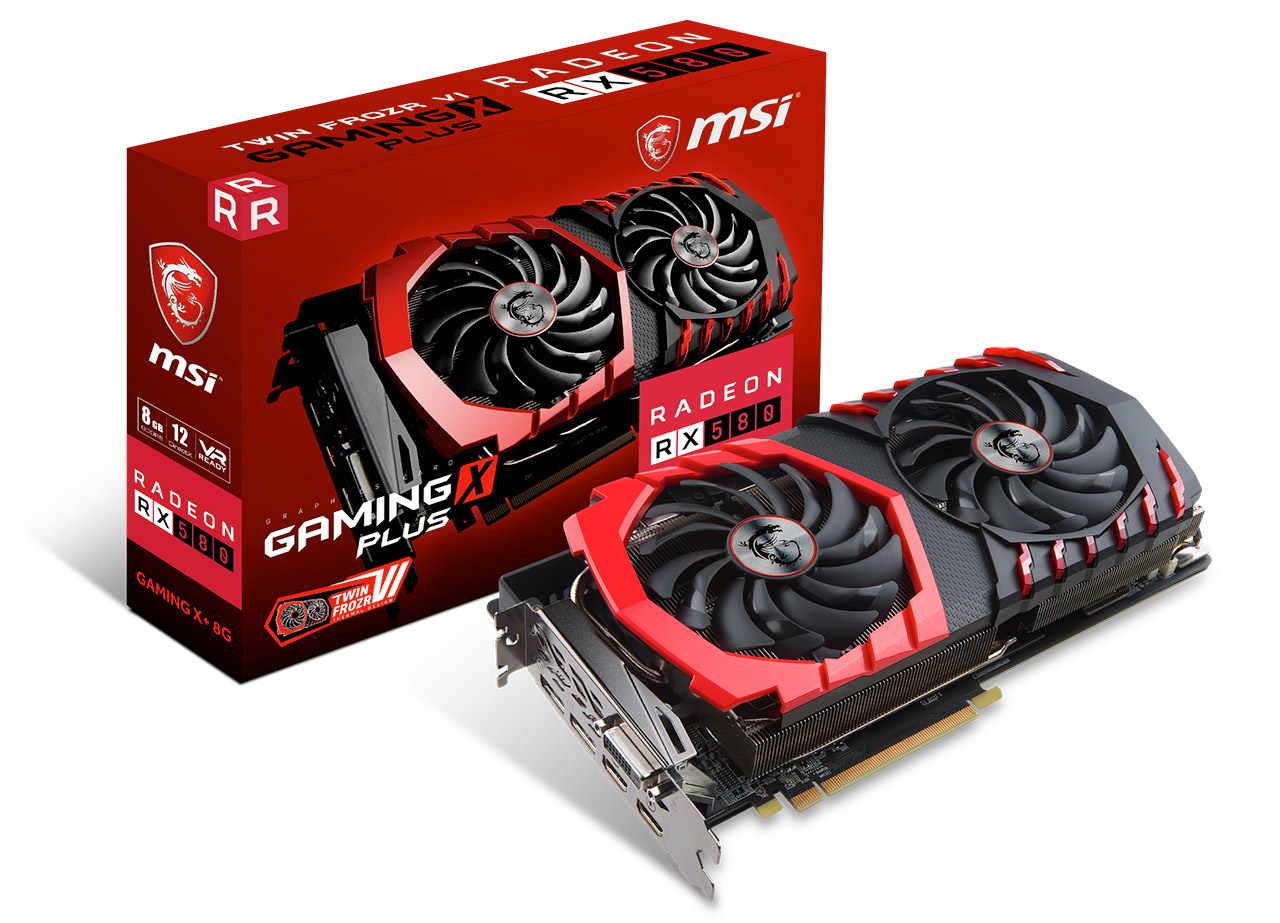 MSI Radeon RX580 GAMING X 8GB