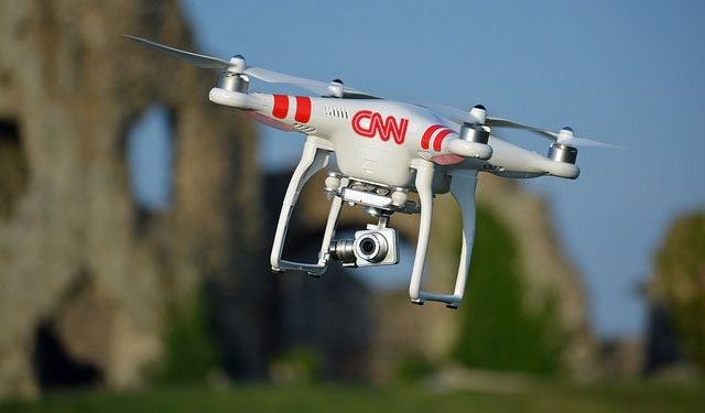 CNN Given OK To Capture News Via Drones