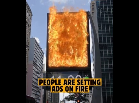 Burger King Brazil lets users 'burn' rival ads in AR campaign