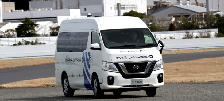 Nissan and NTT Docomo test AR- and 5G-boosted driving