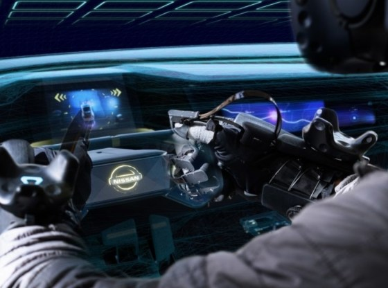 Nissan uses HaptX Gloves to design cars