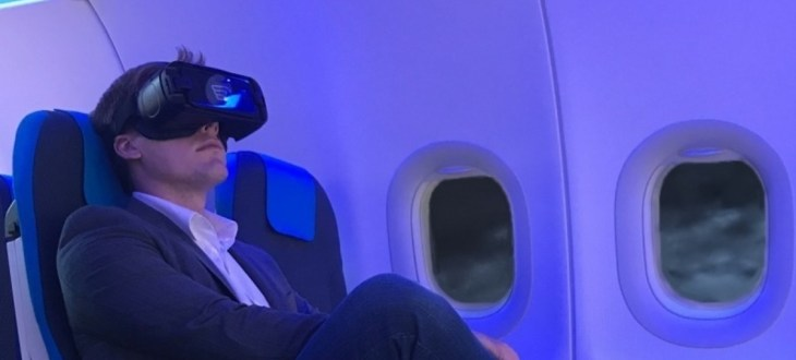 Inflight VR bags another airline customer