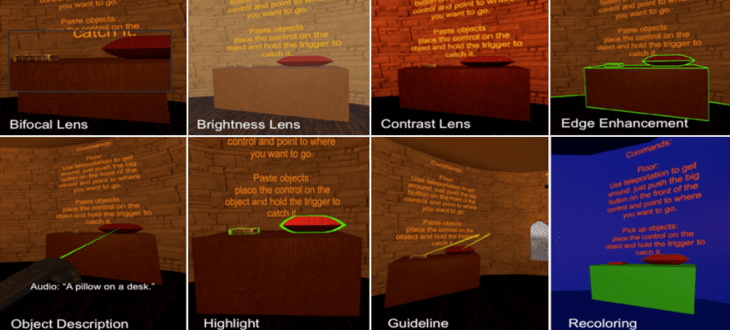 SeeingVR from Microsoft to help people with visual disabilities