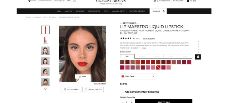 L'Oréal's ModiFace brings AR to Amazon beauty range