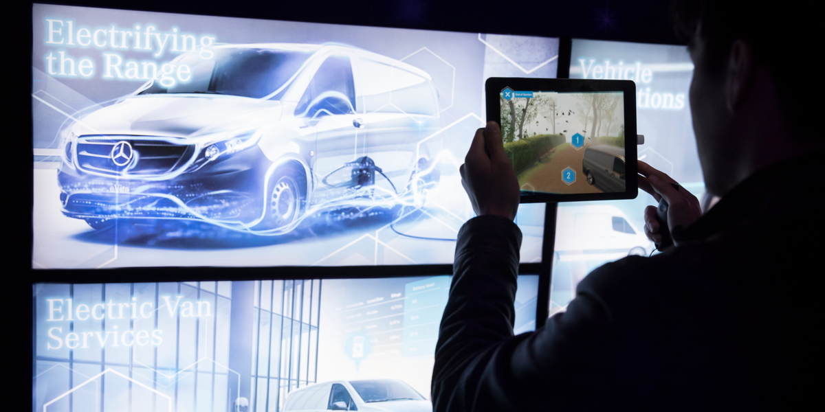 Mercedes-Benz Vans rolls out immersive brand experience