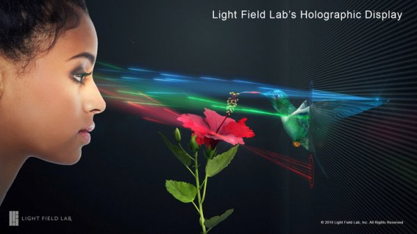 Light Field Lab will use the funds to take its product—small building blocks that form large holographic displays—beyond the prototype stage