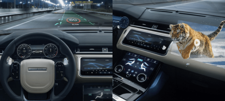 Jaguar Land Rover and University of Cambridge develop 3D HUD for cars