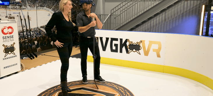 Vegas Golden Knights embraces hockey training in VR