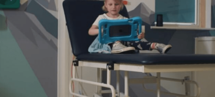AR app developed to boost recovery at Sheffield Children's Hospital