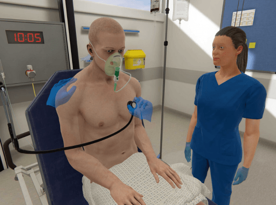 OMS provides free access to VR medical training platform to overcome social distancing