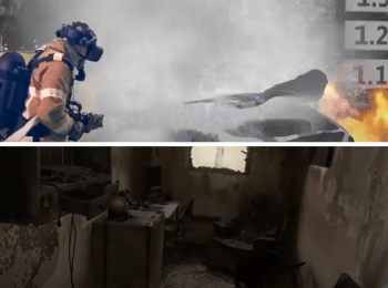 Fire fighting VR training can save lives