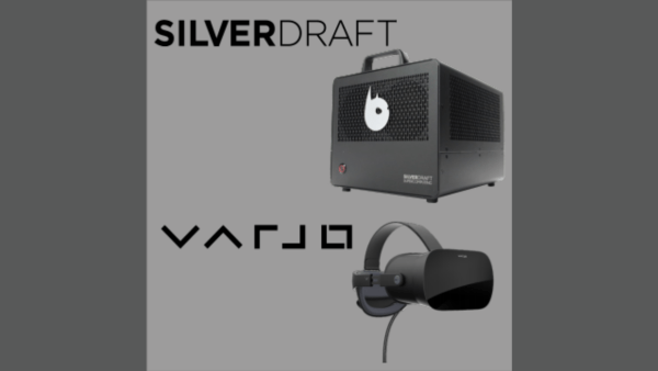 The Silverdraft Demon VR Mini + Varjo VR-2 Pro headset bundle, or the XR-1 version, are available at a 10% discount