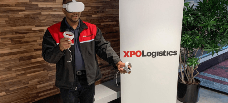 XPO Logistics and Wincanton reveal benefits of VR training
