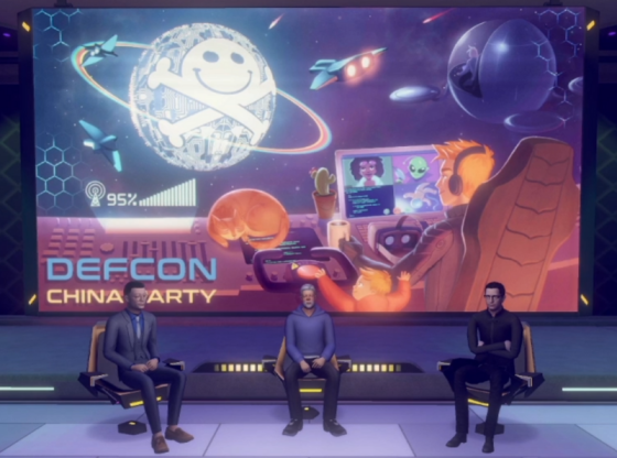 XRSpace Manova World hosts DEF CON China Party 1