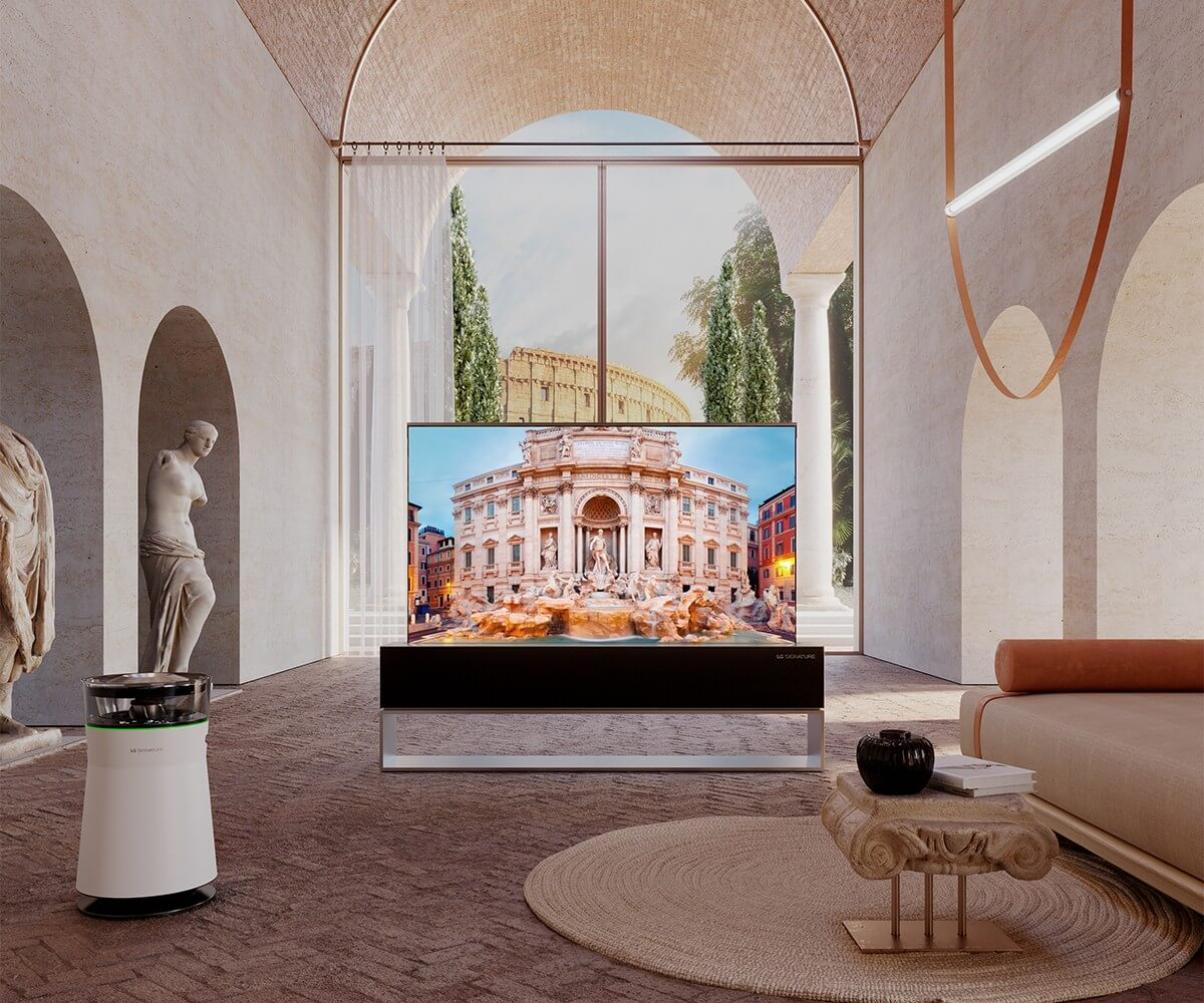 A 3D Virtual Space created by VSLB a 3d creative studio for LG Signature