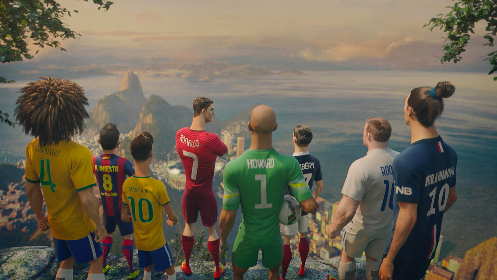 Nikes 3D animation for the World cup 2018