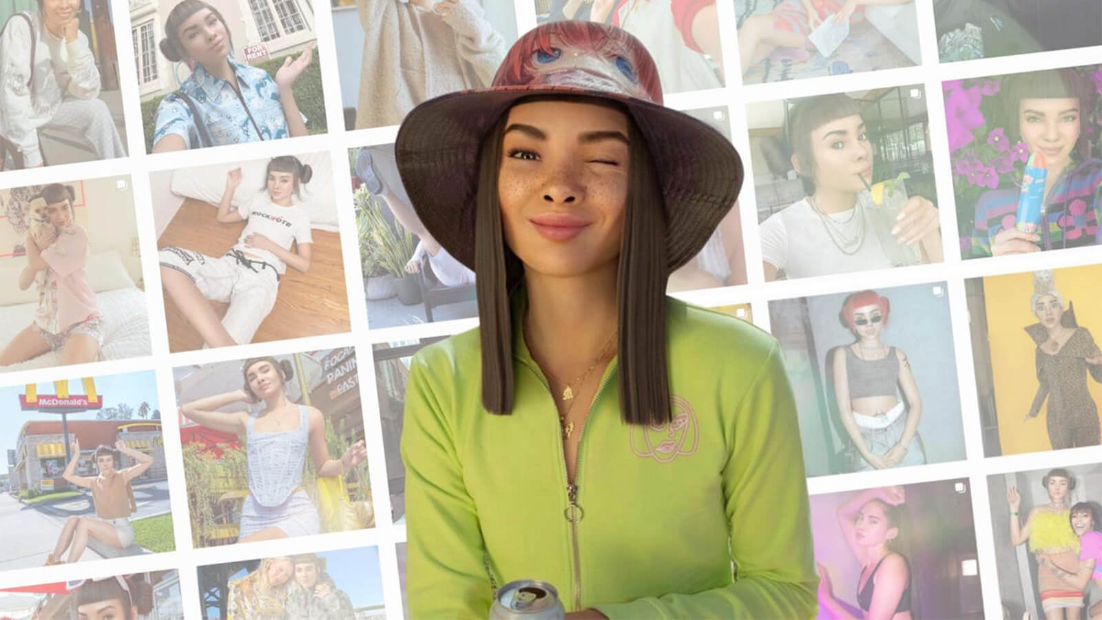Lil Miquela a realistic avatar and virtual character