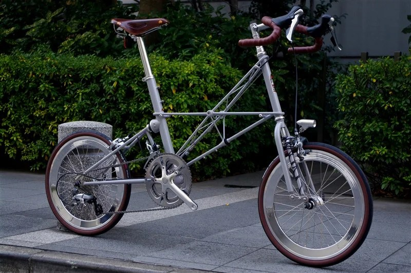 ALEXMOULTON SST/ FLIGHT GREY +HUB DYNAMO 完成車